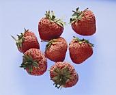 Gefrorene Erdbeeren