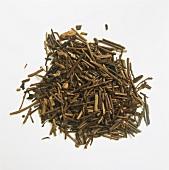 Roasted Green Tea Leaves