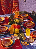Mexican Table Setting