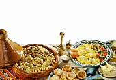 Assorted Arabic Dishes