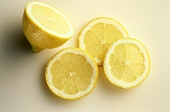 Partially Sliced Lemon
