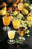 Assorted Fruit Juices with Mixed Fruit
