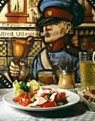 Frankfurter and Tomato Salad