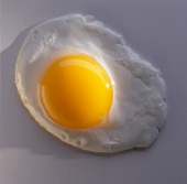 One Fried Egg; Sunny Side Up