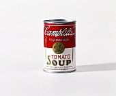 A can of soup (tomato soup from the USA)