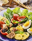 Salade Nicoise with Eiffel