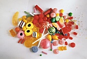 Pile of Assorted Candies for Children