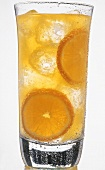A Glass of Orange Soda