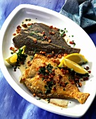 Fried plaice