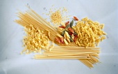 Many Assorted Types of Pasta
