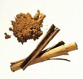 Cinnamon Sticks with Ground Cinnamon