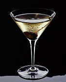 Martini with Olive and Toothpick