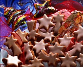 Frosted Star Cookies for Christmas