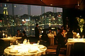 Restaurant Scene at the Regent Hotel in Hong Kong