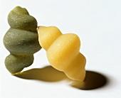 Grüne & weiße Gnocchi (industriell)