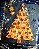Pastry Advent Calendar Christmas Tree