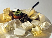 Still Life of Assorted Cheese