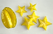 A Whole Carambola with Slices
