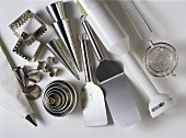 Important kitchen aids for cooking, baking and garnishing