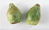 Two prickly pears
