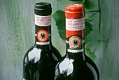 Guarantee of origin on bottle necks of two Chianti Classici