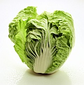Head of Cabbage Split in Half