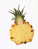 Ananashälfte