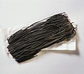 Black egg noodles: Tagliolini al nero di Sepia SPINOSI