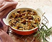 Mixed mushroom stir-fry