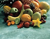 Mixed Fruit and Berry Still Life