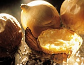 Baked Onion with Skin