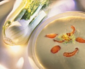 Cold creamed fennel soup
