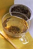 Darjeeling Tea in Glass Cup