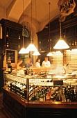 Bar in a restaurant of the Vienna Wein-Comptoir, Austria