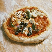 Whole Pizza with Assorted Toppings