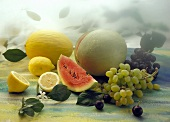 Melons Grapes and Lemons
