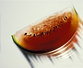 Schnitz einer Wassermelone