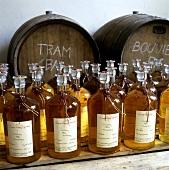 Several Bottles of Oil