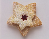 Fruit Filled Star Cookie