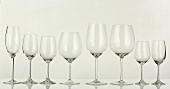 Several Wine Glasses