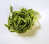 Nest of Spinach Fettichini