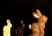 Three Chocolate Bunnies
