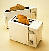 Two Toasters with Toast
