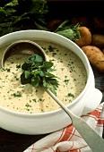 Crock of Creamed Soup