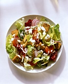 Garden Salad with Blue Cheese