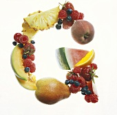 Fruit Forming the Letter G