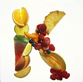 Fruit Forming the Letter K