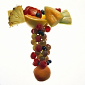Fruit Forming the Letter T
