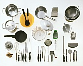 Several Kitchen Utensils