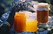 Honey Assortment in Glass Jars